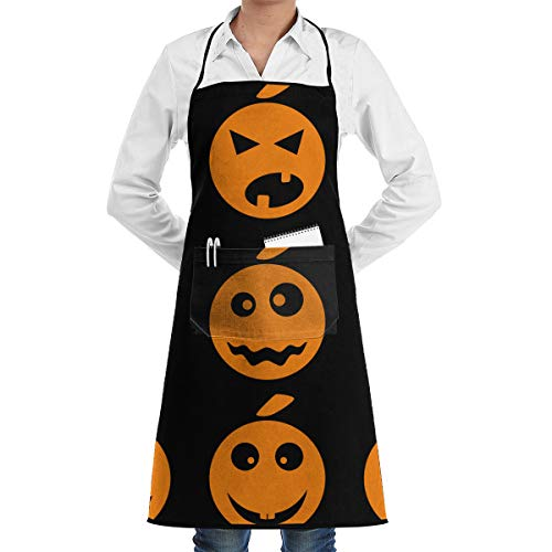 U are Friends Halloween-Kürbis, der Backen-Garten-Koch Apron Barbecue Restaurant Kitchen BBQ kocht