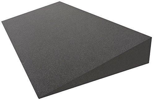 Dibapur® Keilkissen Matratzen Matratzenkeil Matratzenerhöhung Hochlagerungskeil fürs Bett (Ohne Bezug) (B 90 x T 50 x H 15 / 1cm) -
