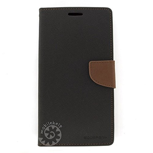 Tingtong Mercury Goospery Diary Flip Cover for Vivo V3 - (Brown)