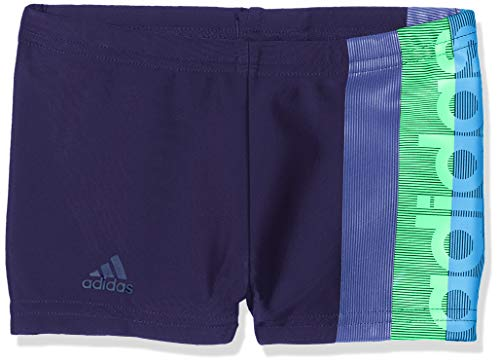 adidas Jungen Fitness Boxer, Noble Ink/Shock Lime, 176