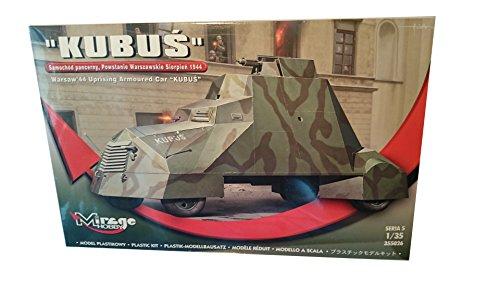 """Mirage Hobby 355026, im Maßstab 1:35, """"KUBUS"""" die Panzerwagen - August 1944 Warschauer Aufstands, Plastikmodellbausatz"""