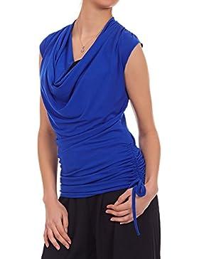 Laeticia Dreams - Camisas - Túnica - Sin mangas - para mujer azul real 40