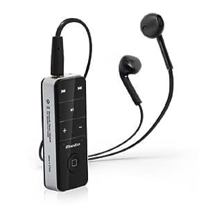 Bluedio I4s - Auricolare Bluetooth stereo per telefoni cellulari, colore: Nero
