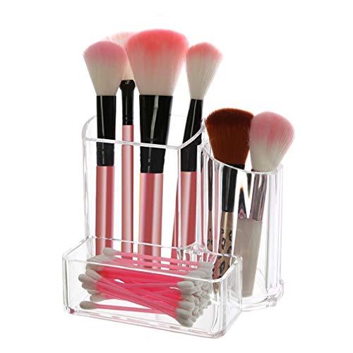 Maquillage Organisateur Boîte de Rangement Compteur Cosmétique Cas Boîte à Bijoux pour Brosses, Rouge À Lèvres, Fondation, Accessoires