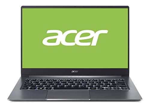 Acer Swift 3 (SF314-57-74ET) 35,56 cm (14 Zoll Full-HD IPS matt) Ultrabook (Intel Core i7-1065G7, 16GB RAM, 1.000GB PCIe SSD, Intel Iris Plus Graphics, Win 10 Home) steel-grey