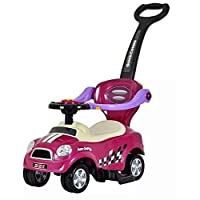 Cool Baby 3 In 1 Activity Ride-On for Unisex - Purple,