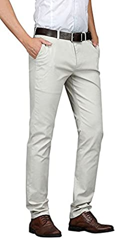 Hommes Svelte Tapered Stretchy Décontractée