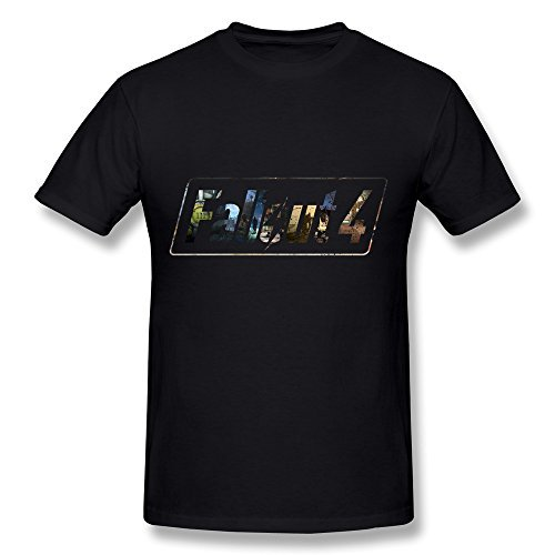 fallout 4 t shirt Gerlernt Men's Video Games Fallout 4 Logo T-Shirt
