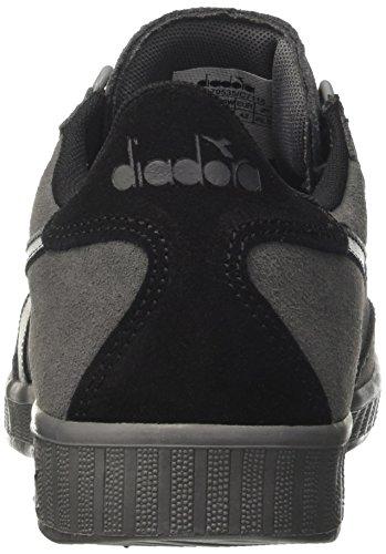 Diadora B.Original, Sneaker a Collo Basso Uomo Grigio (Steel Grey/Black/Steel Grey)