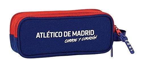 41iIcAKfS9L - Estuche Atlético de Madrid Coraje Doble