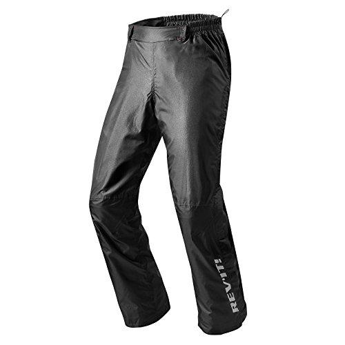 Revit Sphinx H2O Moto Pantaloni antipioggia rivestimento in PU Unisex überzieh pioggia pantaloni nero XS-4x