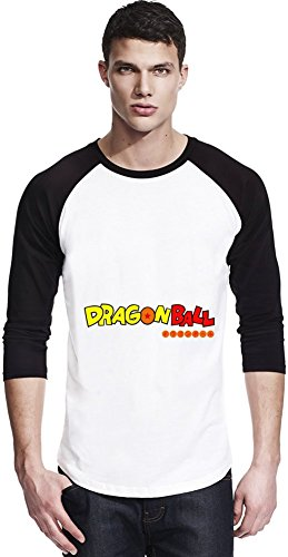 Dragon Ball Logo Unisexe Baseball Shirt Small