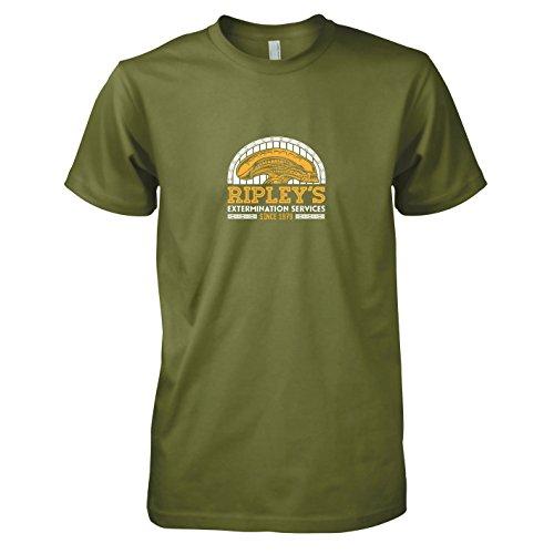 TEXLAB - Ripley's Extermination Services - Herren T-Shirt Oliv