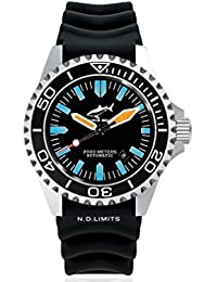 Chris Benz Deep 2000m Automatic CB-2000A-G1-KB Automatic Mens Watch Diving Watch