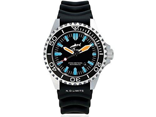 Chris Benz Uhr Taucheruhr Deep CB-2000A-G1-KB