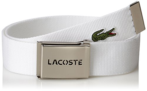 a824594026e2e2 Lacoste 0886619711045 Mens Premium Smooth Leather Belt With Metal ...