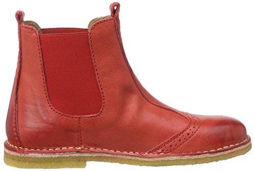 Bisgaard Boot, Bottes Chelsea courtes, doublure froide mixte enfant Rouge - Rot (10 Red)