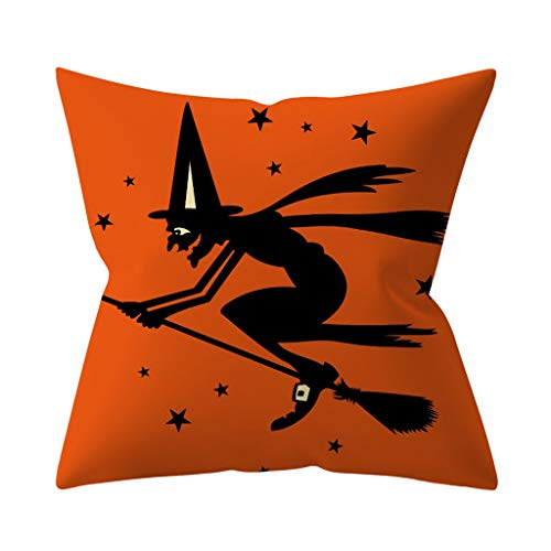 Wars Machen Star Hause Zu Kostüm - Lazzboy Dekokissenbezug Halloween Pumpkin Dekorative Sofakissenbezug Kissenbezüge Sofa Dekokissenhülle Haus Zimmer Auto Deko(H)