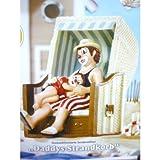 PEKL - Gilde handbemalte Sammlerfigur - Clown Daddys Strandkorb