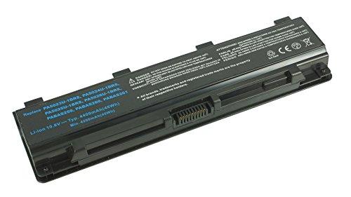 PowerSmart - Batería para Toshiba Satellite C840, C845, C850, C855, C870, C875 y L70, compatible con PA5024U-1BRS, PA5025U-1BRS, PABAS259 y PABAS260 (10,80 V, 4400 mAh)