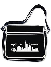Freizeittasche Düsseldorf Skyline 4 Farben Schultasche Sporttasche Tasche