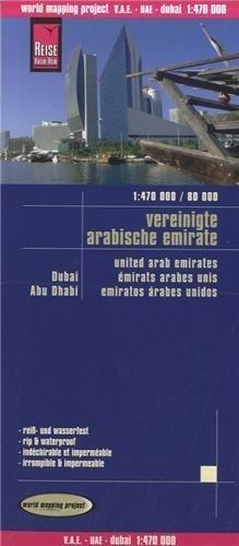 U.A.E., Dubai, Abu Dhabi rkh r/v (r) wp GPS (1470 180) by Reise Know-How Verlag GmbH(2009-01-14) 1470 Gps