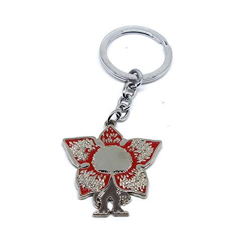 VAWAA Film Fremde Dinge Legierung Schlüsselanhänger Cosplay Blume Design Schlüsselanhänger Anhänger Schlüsselanhänger Fans - Böse Blume Kostüm