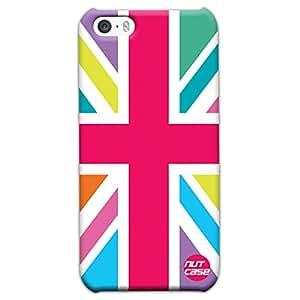 Multicolor Union Jack British Flag - Nutcase Designer iPhone 5s Case Cover