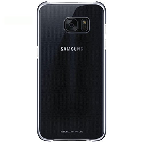 Samsung Clear Cover - Funda para Samsung Galaxy S7 Edge, color Negro