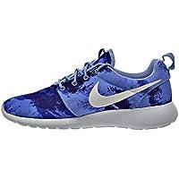 Nike-Scarpe da corsa da uomo con stampa rosherun 655206 Scarpe da ginnastica, misura: us 7, UE 40, in alluminio, bianco: 415 persiano