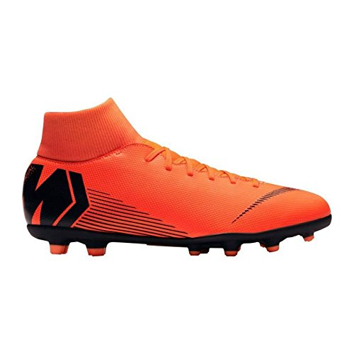 Nike Superfly 6 Club MG, Scarpe da Fitness Unisex-Adulto, Multicolore (Total Orange/Black-t 810), 43 EU