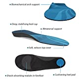 FootActive COMFORT Premium Insoles – NHS-APPROVED Full-Length Arch Support Orthotic Insole Proven to Help Reduce Heel Pain, Plantar Fasciitis, Knee/Back Pain & Achilles Tendonitis