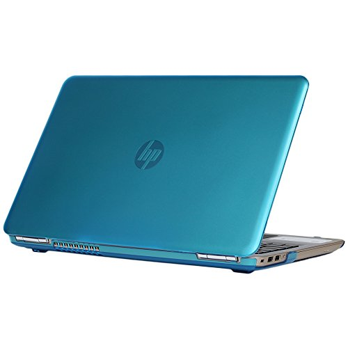 """mCover coque SEULEMENT pour 15,6"""" (39,6 cm) HP Pavilion série 15-ccXXXXX / 15-cdXXXXX PC Portable ( 15-cc501nf etc) ET HP Pavilion 15 Power Gaming Notebook 15-cbxxxxx série portable (Aqua)"""
