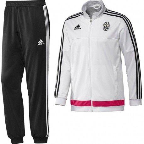 2015-2016 Juventus Adidas PES Tracksuit (White) - Kids