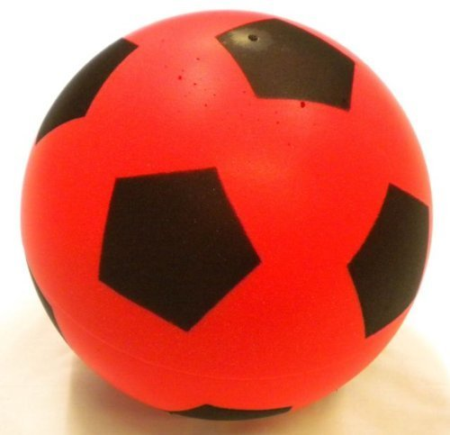 Foam Football - Size 5 - Red by Halsall