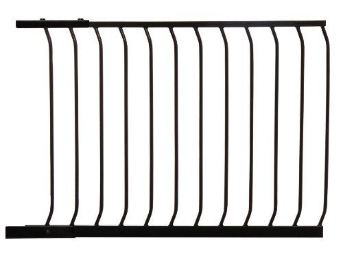 Dreambaby - Extensión 100 cm para la barrera de Seguridad Chelsea, negra