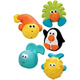 Sassy Bathtime Pals Squirt and Float Toys (japan import)