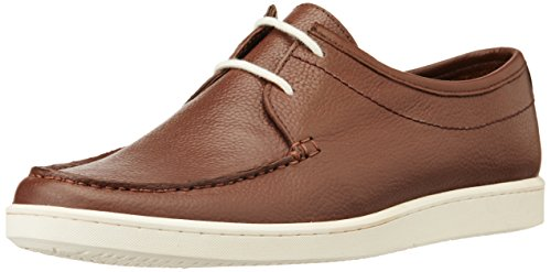 Louis Philippe Men's Leather Boat Shoes