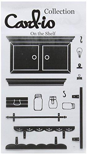 Card-io Stempel, Regal-Motiv