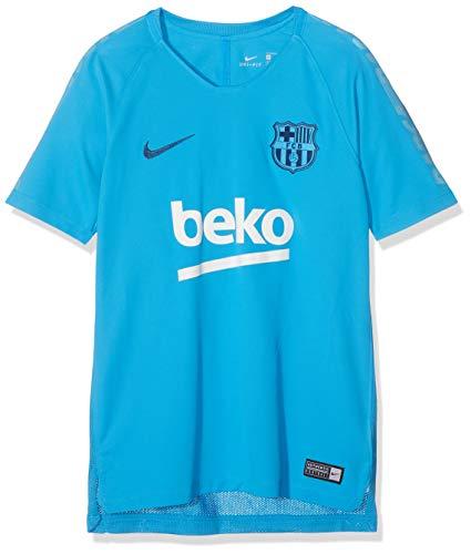 Nike Kinder FCB Y NK BRT SQD SS T-Shirt, Equator Blue, L