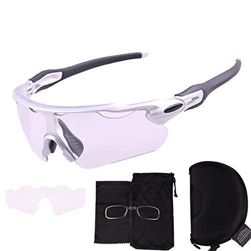Sonnenbrillen Lens Bikeing Outdoor-Sportbrillen Sonnenbrillen Herren- und Damen-Farbradbrille Bewegung gegen die Outdoor-Radsport-Mountainbike-Rennradbrille Brille