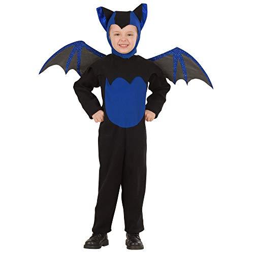 WIDMANN-Pipistrello 41939 - Disfraz infantil unisex, multicolor, (110 cm/3 - 4 años)