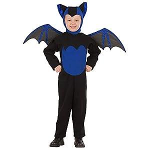 WIDMANN-Pipistrello 41935 - Disfraz infantil unisex, multicolor, (116 cm/4 - 5 años)