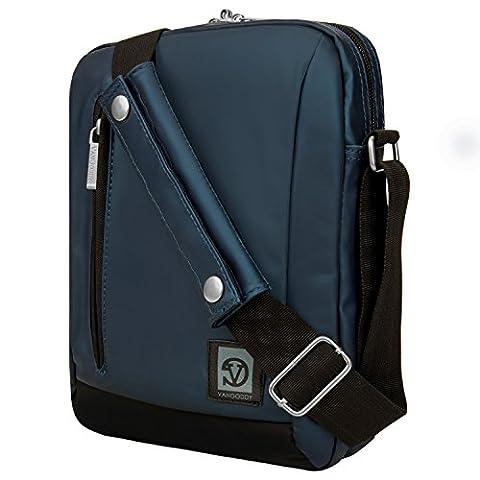 Navy Blue CrossBody Messenger Bag for Asus Transformer Book / Mini / Chromebook 10 Inch Tablets