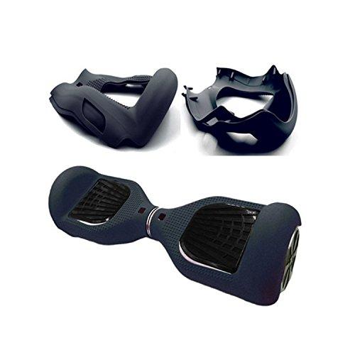 Hiboy - Coque Housse de Protection en Silicone pour 6,5 Pouces Self Balancing Scooter Accessoires - Noir
