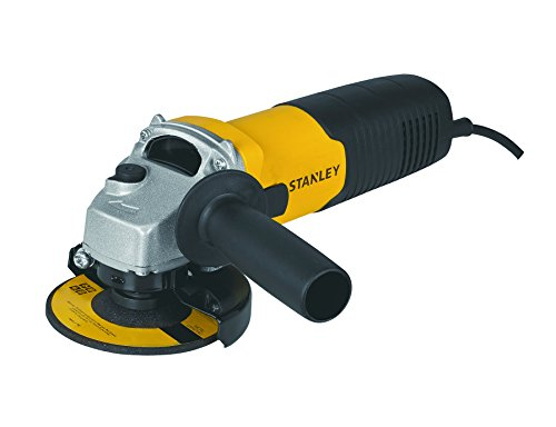 Stanley 600-Watt Small Angle Grinder, 100mm, Yellow and Black