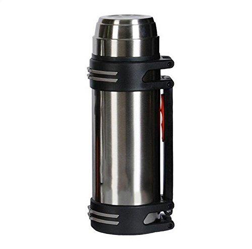 DONG Outdoor/rostfreier Stahl/große Kapazität/Reisen/Isolierung/Trinkflaschen , Silver , 1200ml