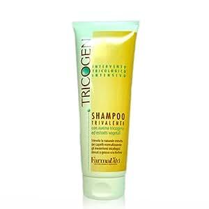 Farmavita Italy Tricogen Shampoo, 250ml Hairfall and Dandruff Treatment Best Used With Tricogen Lotion