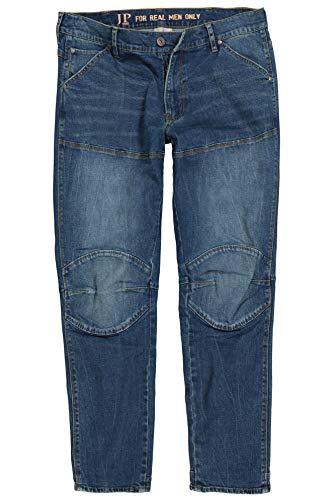 JP 1880 Herren große Größen bis 7XL, Jeans, lässig Weite Passform, markante Nähte, vorgewaschene 5-Pocket, Normale Leibhöhe, Blue Stone 64 720096 91-64 -