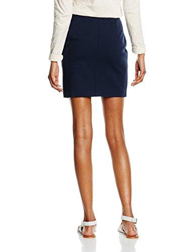 SELECTED FEMME Damen Rock Sfkelly Mw Skirt Noos Blau (Navy Blazer)